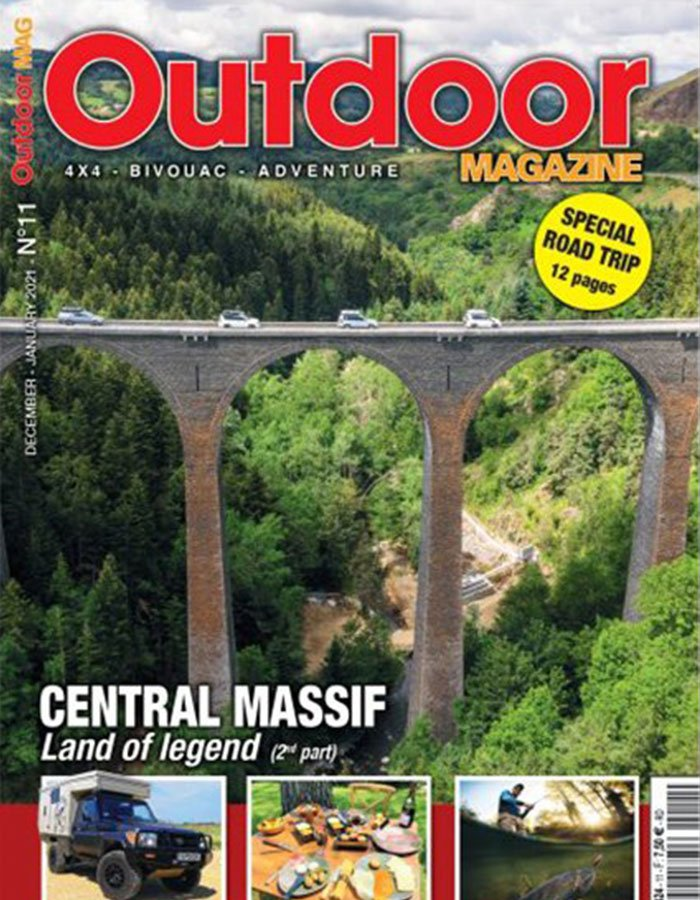 Outdoor magazine cover january 2021
